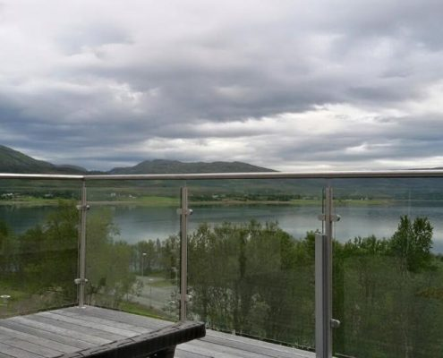 Terrace handrails in Norway