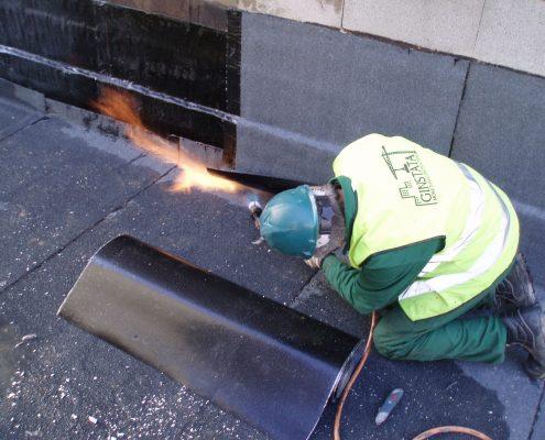 Terrace waterproofing works
